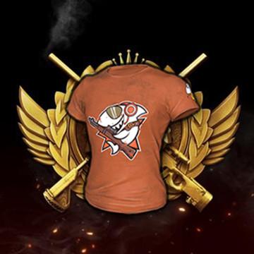 絕地求生版 斗魚T-Shirt CDK