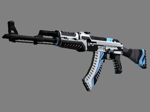 AK-47 | 火神 (略有磨损)