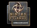 印花 | Ninjas in Pyjamas | 2014年 DreamHack 锦标赛