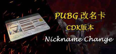 PUBG 改名卡CDK