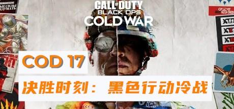 COD17使命召唤17 决胜时刻黑色行动冷战 (暴雪战网平台)