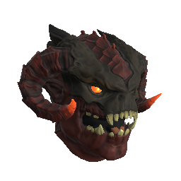 Infernal Demon Mask (Red)